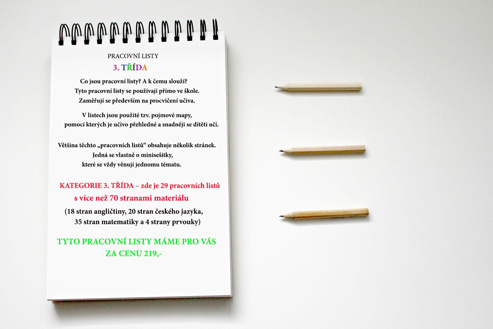 Pracovni Listy Pro 3 Tridu Pdf Verze Elektronicka Hrave Doucovani